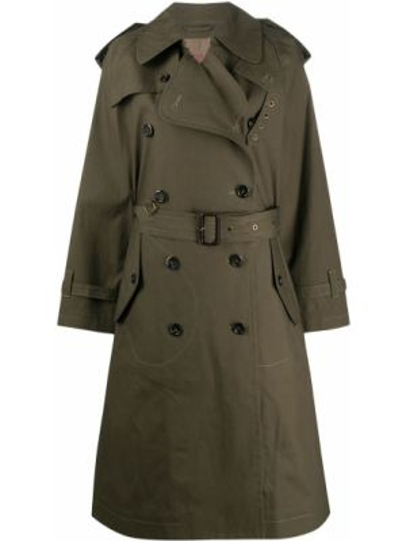 Długi płaszcz z kieszeniami z kołnierzem Marc Jacobs