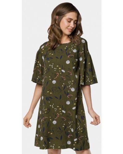 Зеленое платье весеннее Mr520