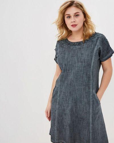 Платье - серое Milanika