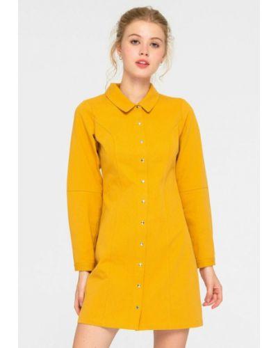 Платье - желтое Shtoyko