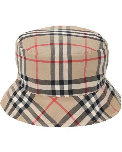 Beżowy bawełna bawełna kapelusz Burberry