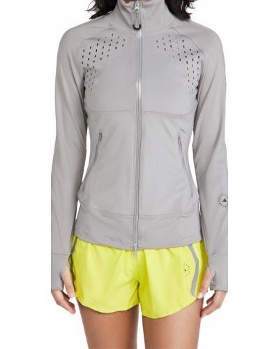 Трикотажная длинная куртка с воротником с подкладкой Adidas By Stella Mccartney