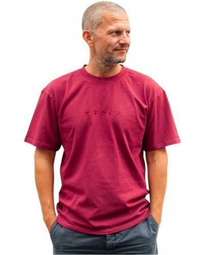 Czerwona t-shirt Edwin