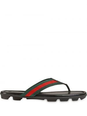 Stringi - czarne Gucci