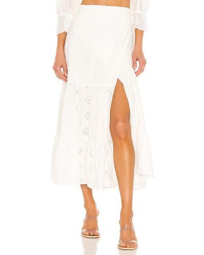 Домашняя хлопковая бежевая юбка Bardot
