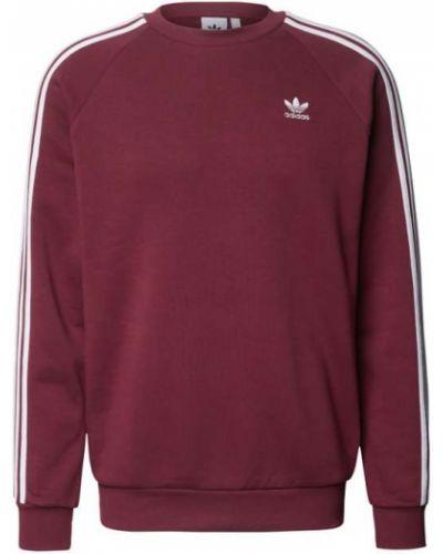 Bluza bawełniana - fioletowa Adidas Originals
