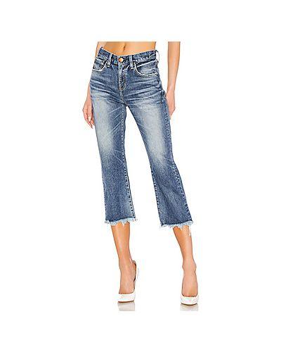 Укороченные джинсы в стиле бохо Red Card