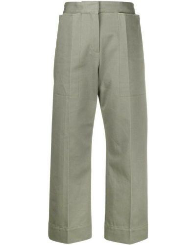 Spodnie - zielone Jacquemus