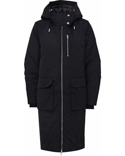 Черная куртка с капюшоном с капюшоном Ichi
