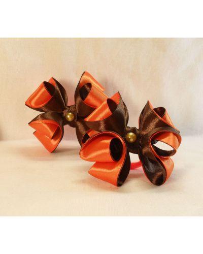 Резинка для волос оранжевая набор Lacywear