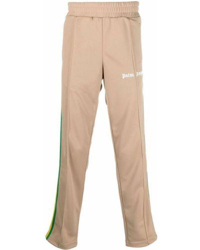 Klasyczne spodnie z printem Palm Angels