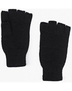 Перчатки митенки текстильные Topman