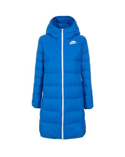 Зимняя куртка с капюшоном длинная Nike