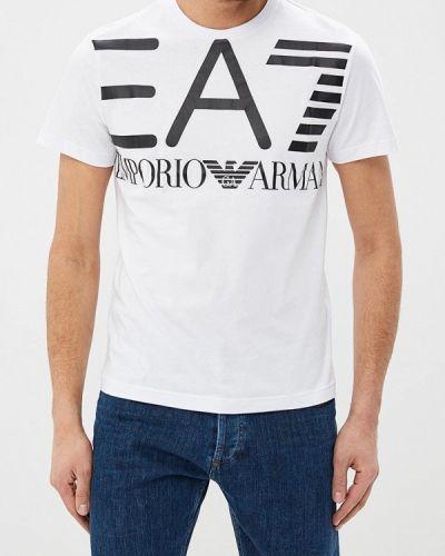 Белая футболка Ea7