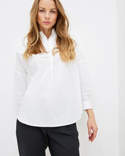 Блузка с длинным рукавом белая французский French Connection