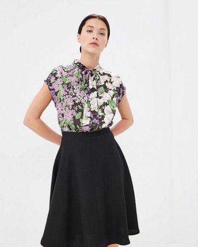 Повседневное платье черное Blugirl Folies