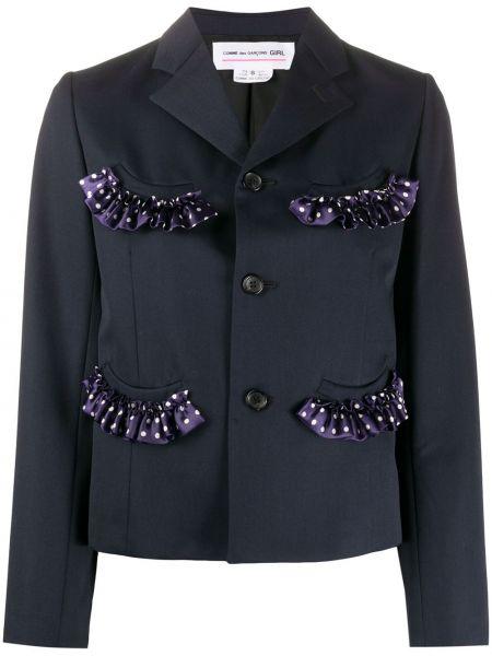 Куртка на пуговицах с карманами Comme Des Garcons Girl