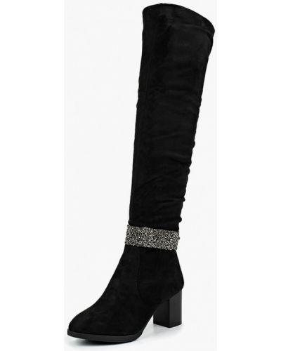 Ботфорты на каблуке замшевые искусственный Vivian Royal