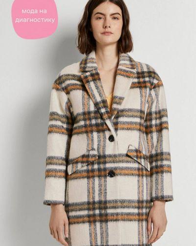 Бежевое пальто Tom Tailor Denim