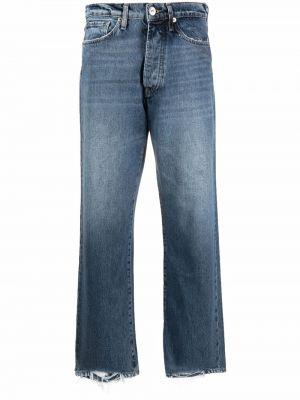 Синие джинсы классические 3x1