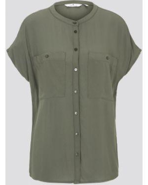 Зеленая блузка Tom Tailor