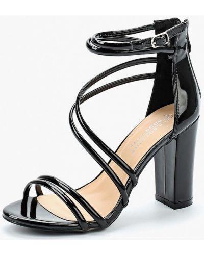 Босоножки на каблуке лаковые La Bottine Souriante