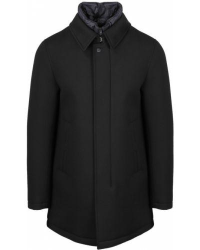 Niebieski płaszcz od płaszcza przeciwdeszczowego Herno
