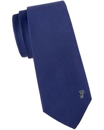 Шелковый синий медальон Versace Collection