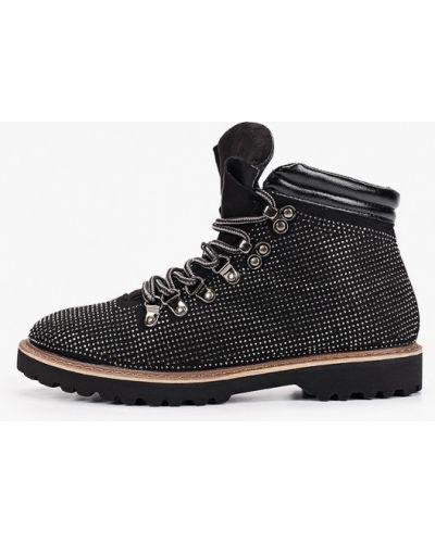 Туфли на каблуке черные Ws Shoes