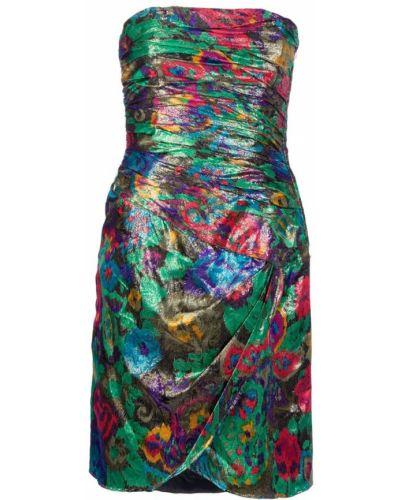 Платье винтажное с люрексом Escada Pre-owned