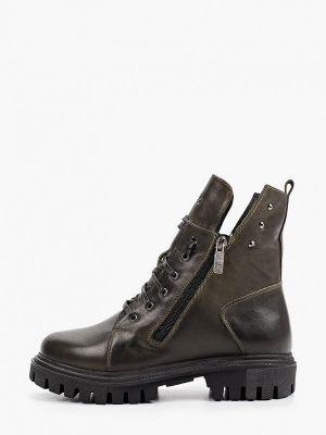 Высокие ботинки хаки Nexpero