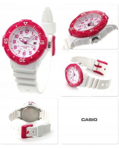 Różowy sport zegarek sportowy Casio