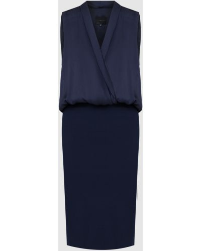 Синее платье миди Hotel Particulier