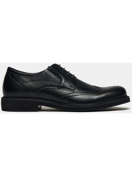 Облегченные кожаные классические черные классические туфли Ralf Ringer