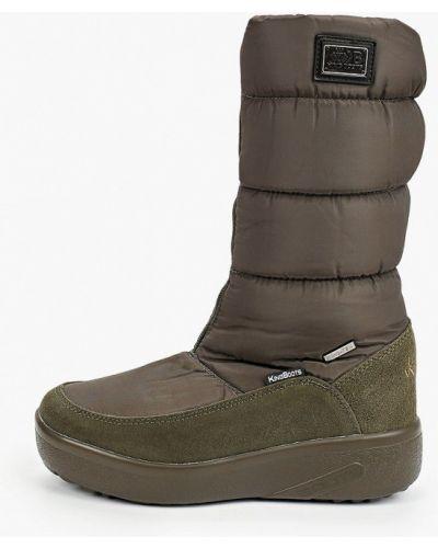 Нейлоновые зеленые сапоги King Boots