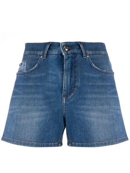 Джинсовые шорты с карманами на пуговицах Dolce & Gabbana