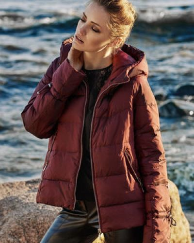 Утепленная куртка пуховая из полиэстера Love Republic