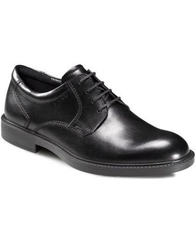 Туфли черные легкие Ecco