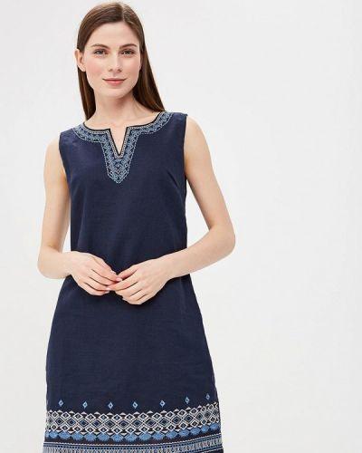 Платье весеннее синее Sweet Miss