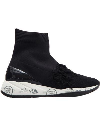 Высокие кроссовки с принтом Premiata