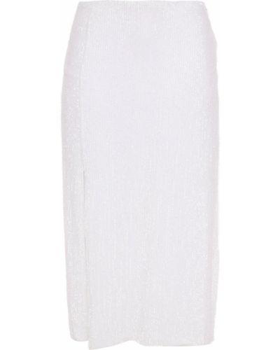 Spódnica z szyfonu - biała Retrofete