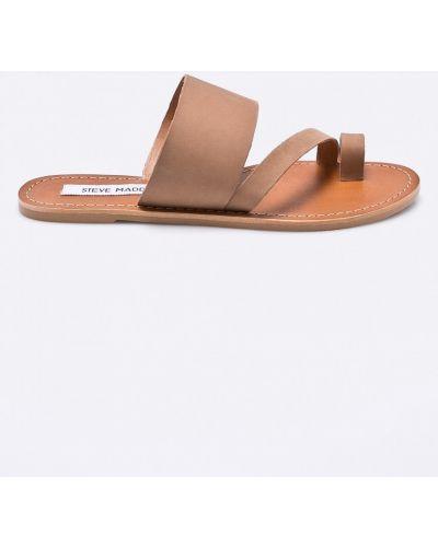 Бежевые сандалии Steve Madden