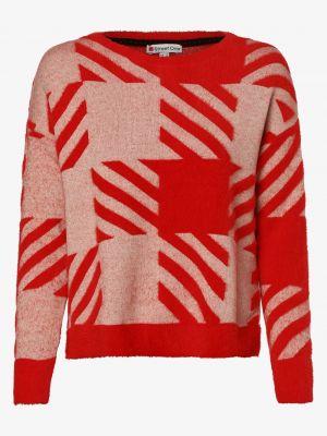 Klasyczny czerwony sweter oversize Street One