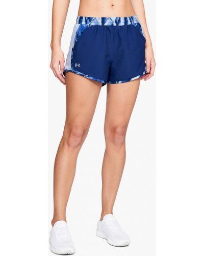 Синие спортивные шорты Under Armour