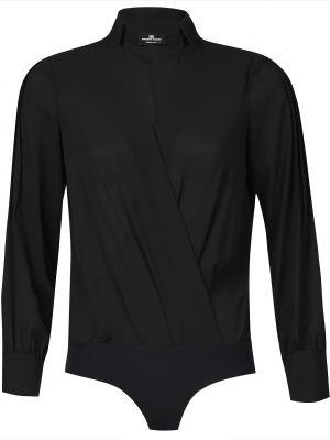 Боди блуза черное Elisabetta Franchi