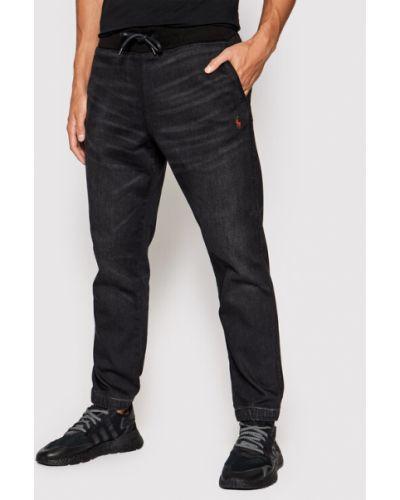 Mom jeans - czarne Polo Ralph Lauren