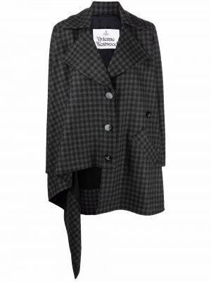 Шерстяное пальто - серое Vivienne Westwood