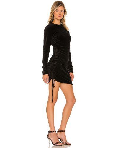 Хлопковое платье мини - черное Pam & Gela