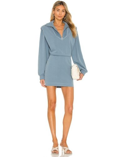 Синее французское платье Saylor