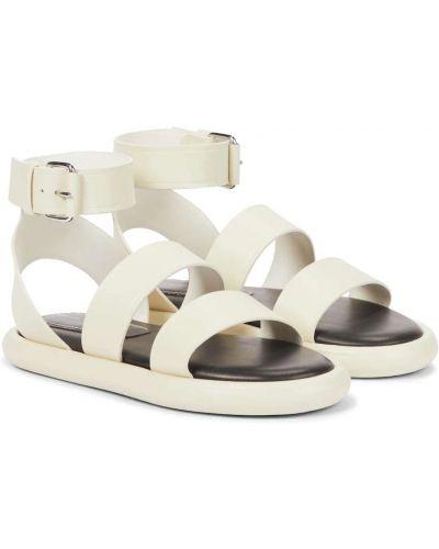 Białe sandały skorzane Proenza Schouler